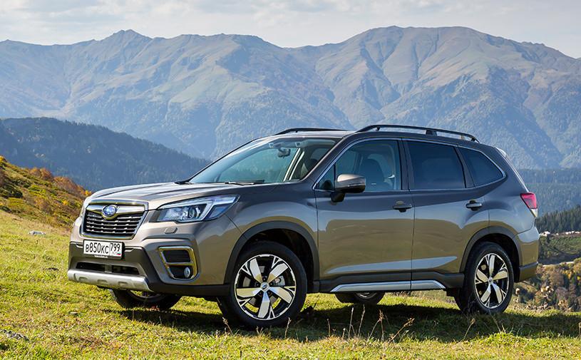 Subaru начала продажи нового Forester в России