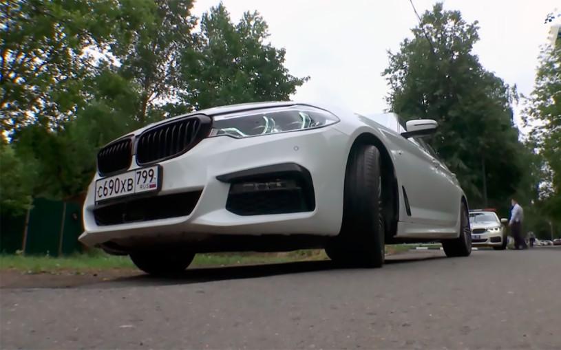Секретная BMW ГИБДД, падение авторынка и другое. Автоновости дня