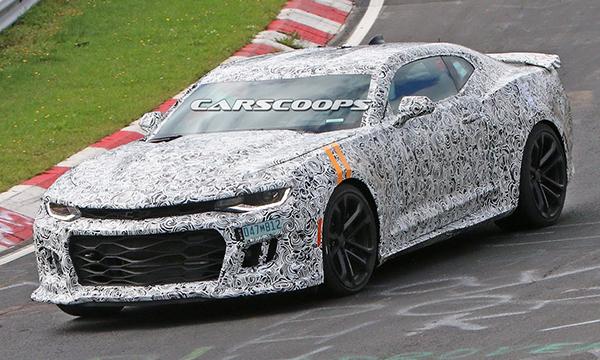 Chevrolet Camaro Z1 сфотографировали на новых тестах