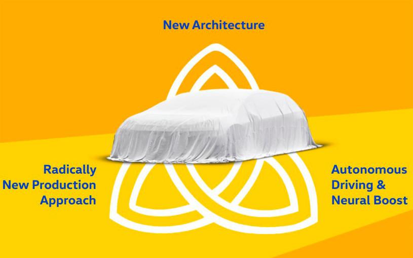 Volkswagen рассказал о флагманском электрокаре Trinity