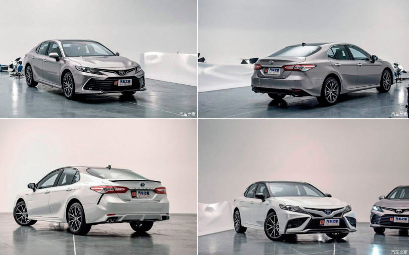 Toyota показала Camry 2021: цифровая приборка, противоугонка и другое