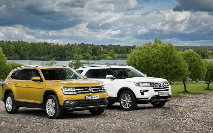 Голос Америки. VW Teramont против Ford Explorer