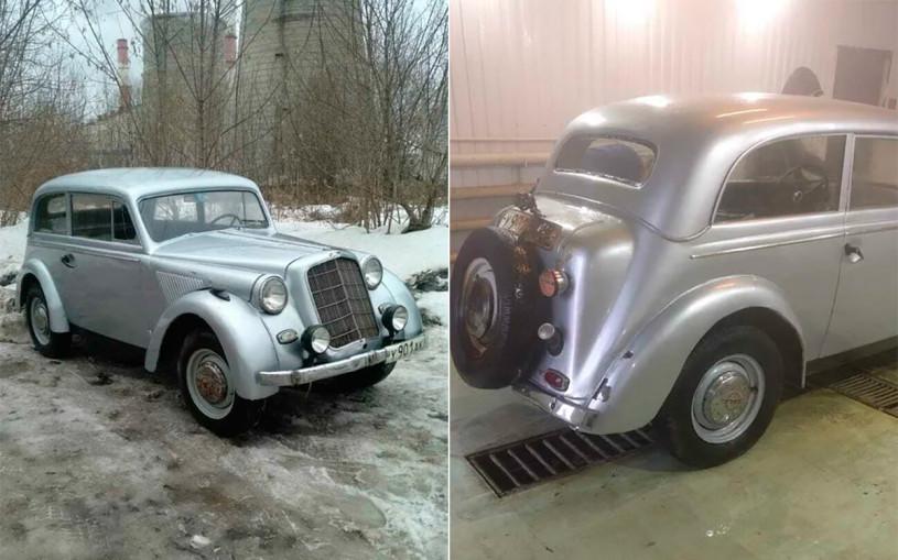 Opel Olympia 1937 года выставили на продажу за 1 млн рублей