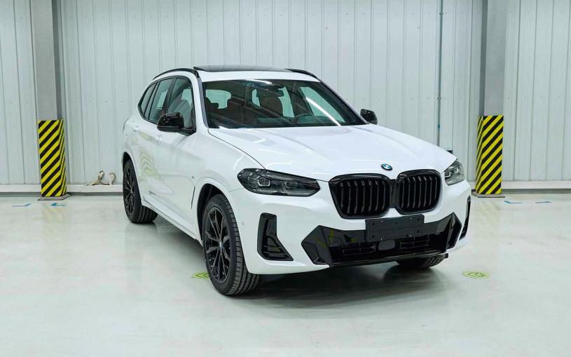 Внешность обновленного BMW X3 раскрыли до премьеры