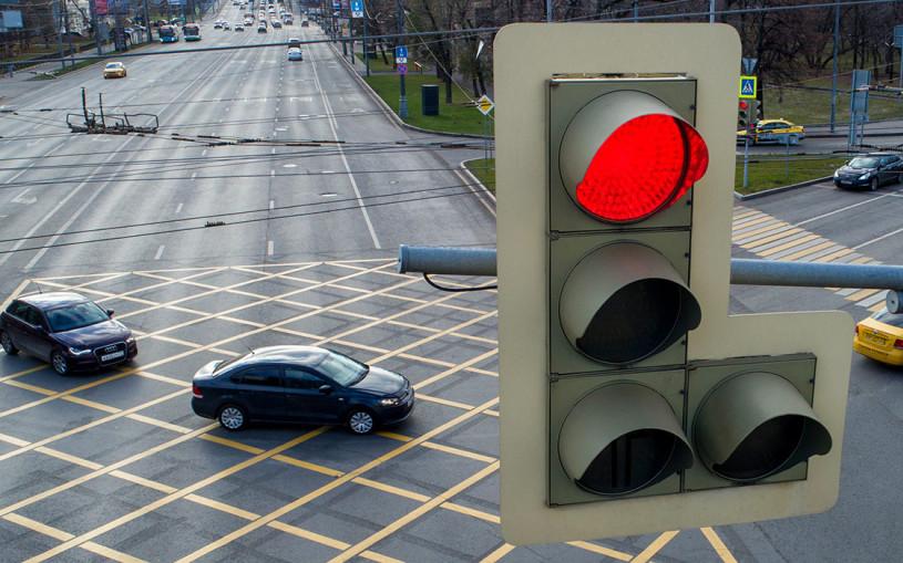 Власти Москвы рассекретили перекрестки с новым типом разметки