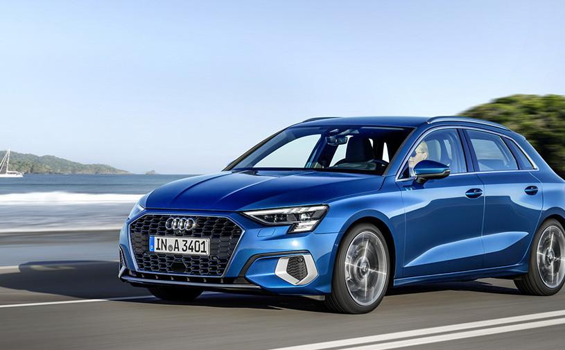 Audi показала хэтчбек A3 четвертого поколения