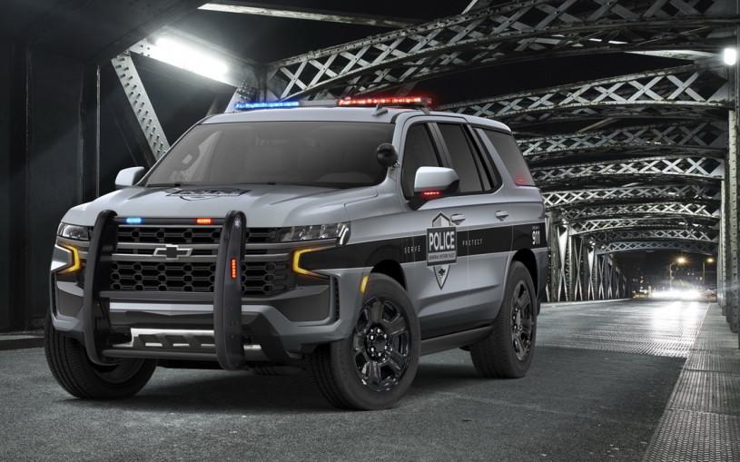 Новый Chevrolet Tahoe стал патрульным перехватчиком