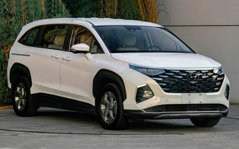 Hyundai выпустил минивэн с внешностью нового Tucson
