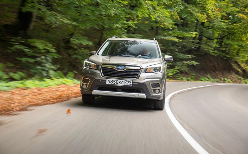 В России отзовут более 7 тыс. машин Subaru из-за проблем с подвеской