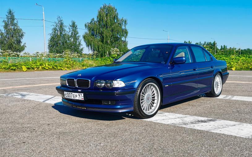 Самая крутая «семерка» BMW в истории. Тест редчайшей Alpina B12 6.0