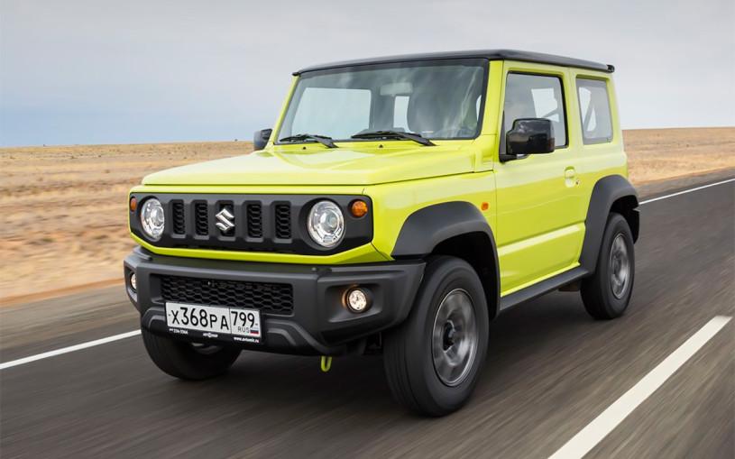 Suzuki отзовет почти 6 тыс. новых внедорожников Jimny в России