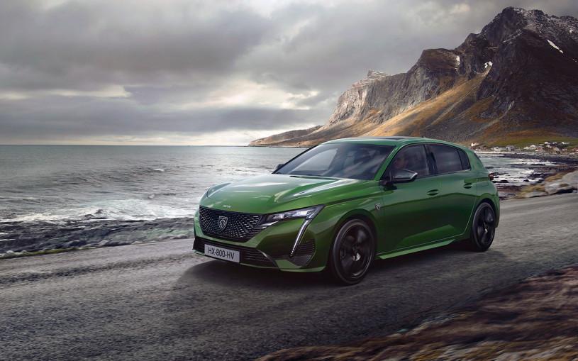 Peugeot представил первую машину с новым логотипом