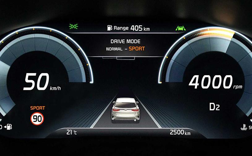 Новый кроссовер Kia XCeed получит цифровую приборную панель