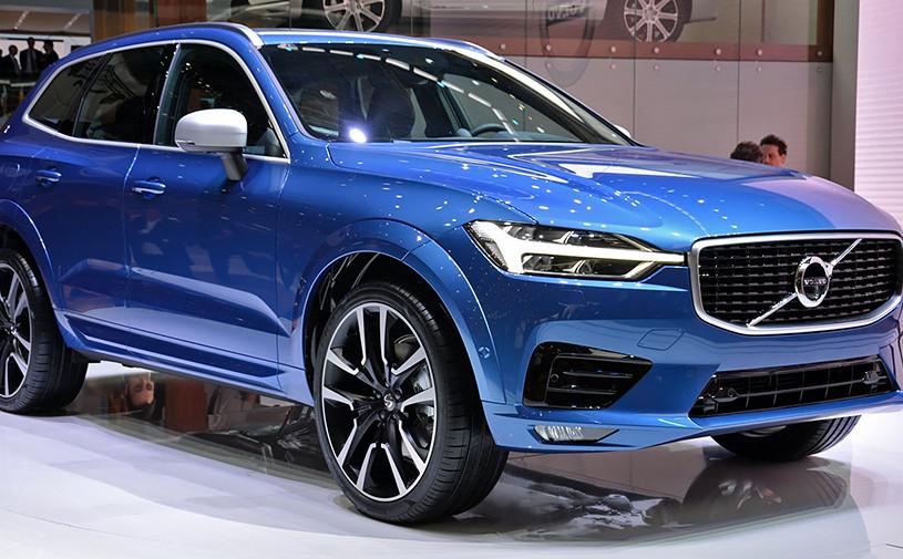 Volvo представила кроссовер XC60 нового поколения