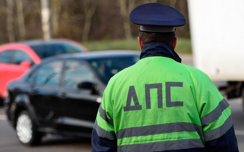 ГИБДД задержала водителя с «зеркальными правами». Фото