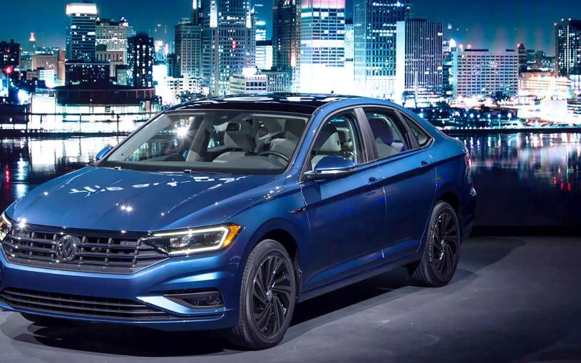 Новая VW Jetta: что будет, если смешать Octavia и Passat