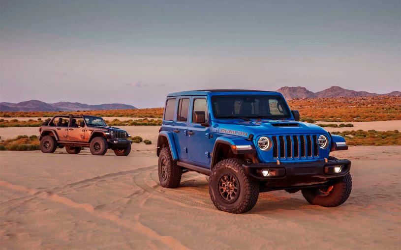 Jeep представил сверхпроходимый Wrangler с 470-сильным мотором V8