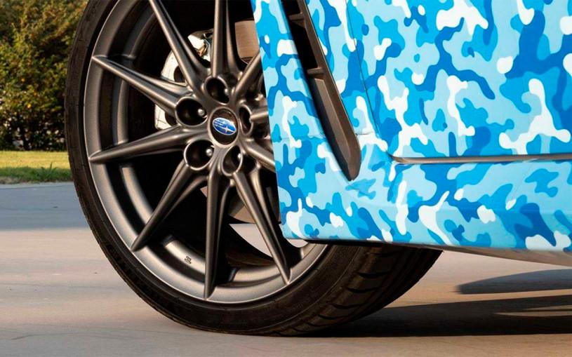 Subaru показала первый снимок спорткара BRZ нового поколения