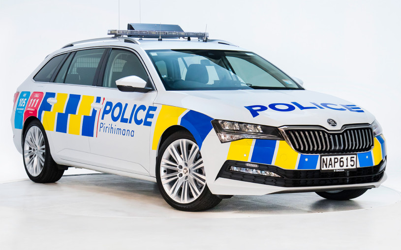 Skoda Superb стал официальным полицейским автомобилем в Новой Зеландии