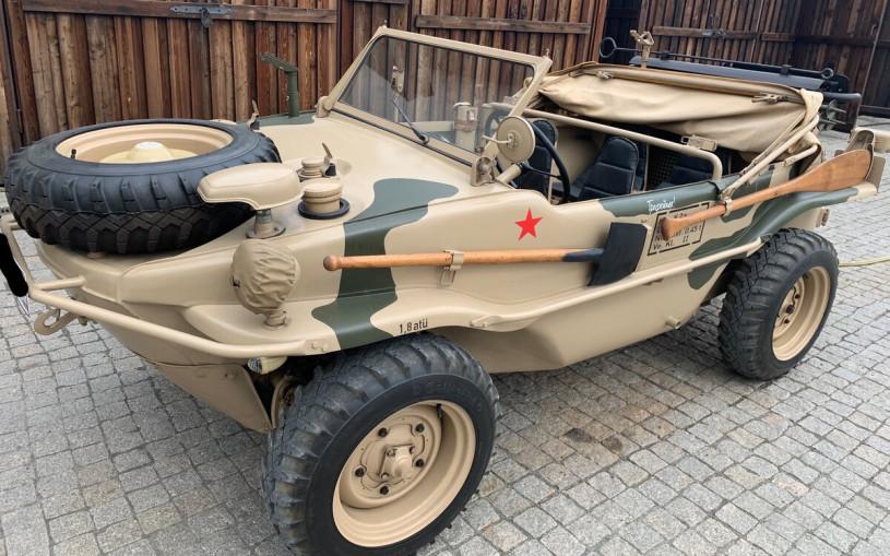 В Тюмени продают немецкий вездеход времен ВОВ