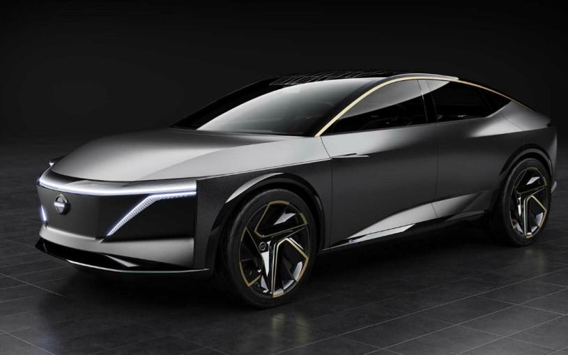 Nissan привез в Детройт электрический вседорожный седан