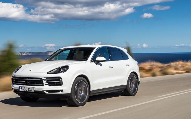 Видео: первый тест-драйв Porsche Cayenne нового поколения