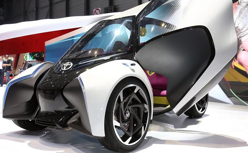 Toyota показала автомобиль будущего