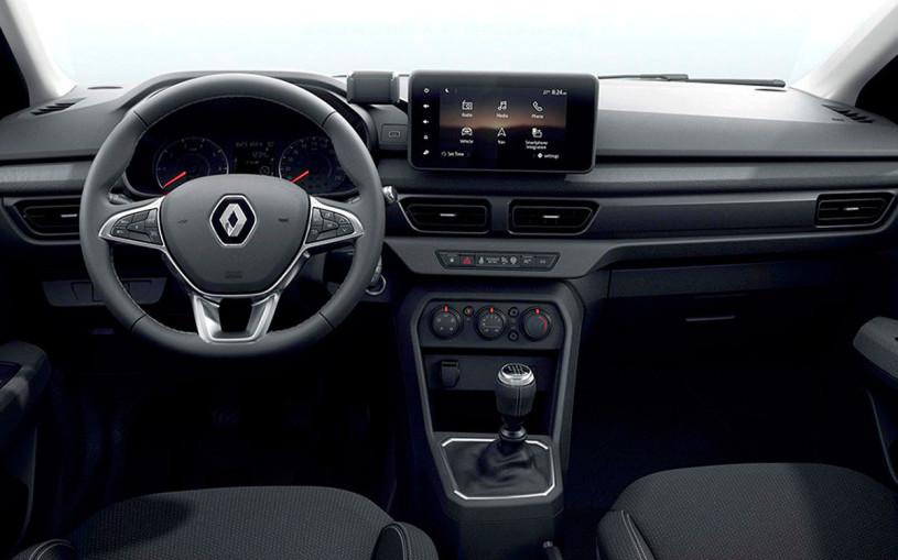 Renault показала салон нового бюджетного седана