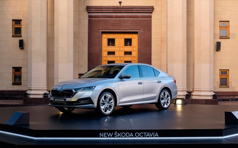Skoda запустила производство новой Octavia в России