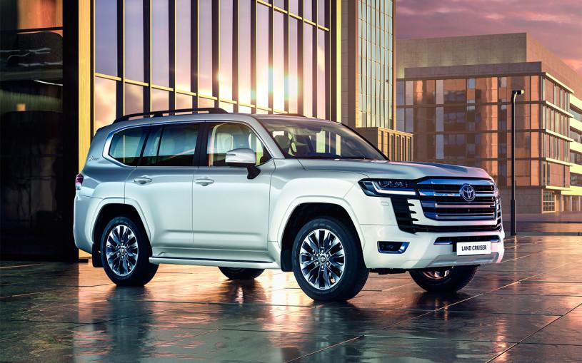 Toyota назвала российские цены на Land Cruiser 300