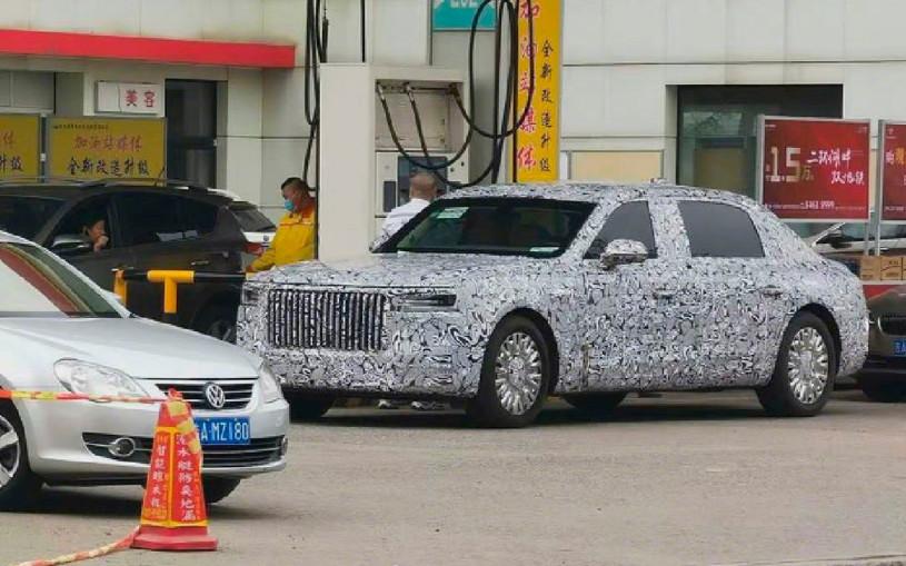 Новый роскошный седан от китайского конкурента Aurus: первые фото