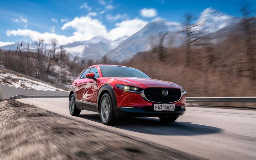 Скрытые таланты. Тест-драйв Mazda CX-30 в горах