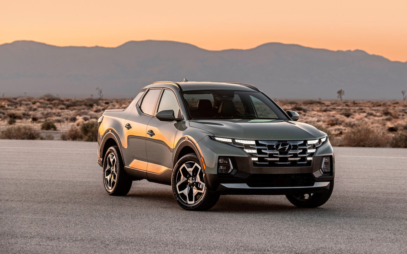 Hyundai представила полноприводный пикап Santa Cruz на базе Tucson
