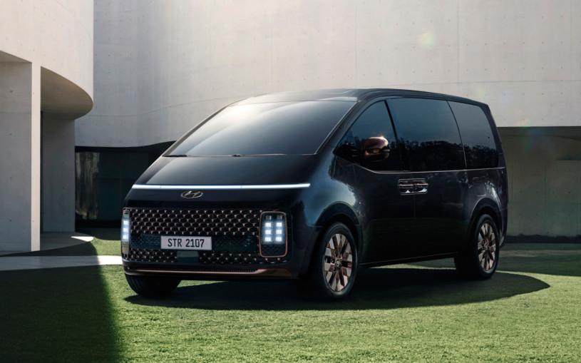 Минивэн Hyundai Staria, который привезут в Россию: все подробности