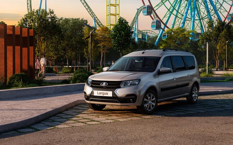 АвтоВАЗ запустил в продажу обновленный универсал Lada Largus