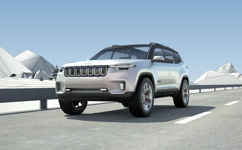 Jeep перестал скрывать свой самый большой внедорожник
