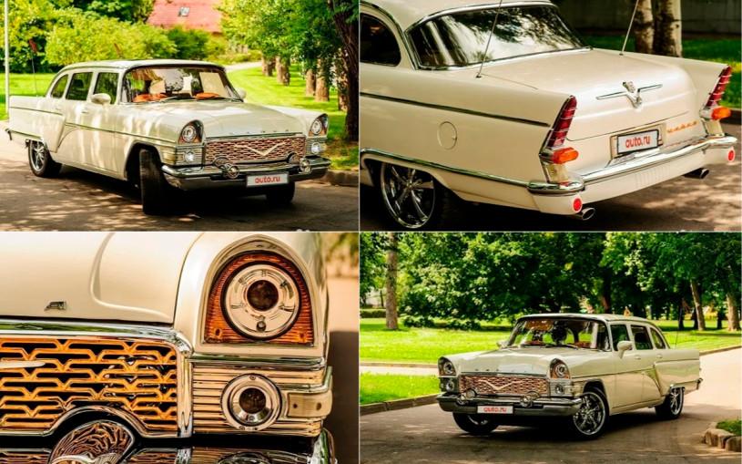 В России выставили на продажу «Чайку» с двигателем от Mercedes-AMG