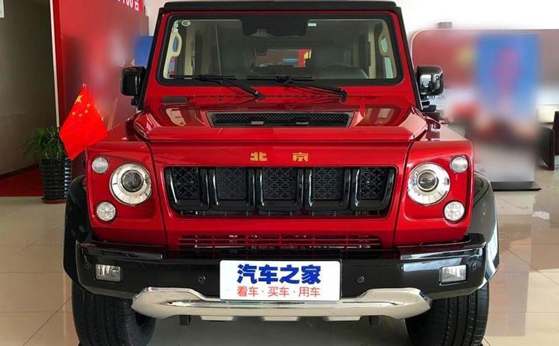 Китайский клон «Гелендвагена» получил спецверсию в честь юбилея КНР