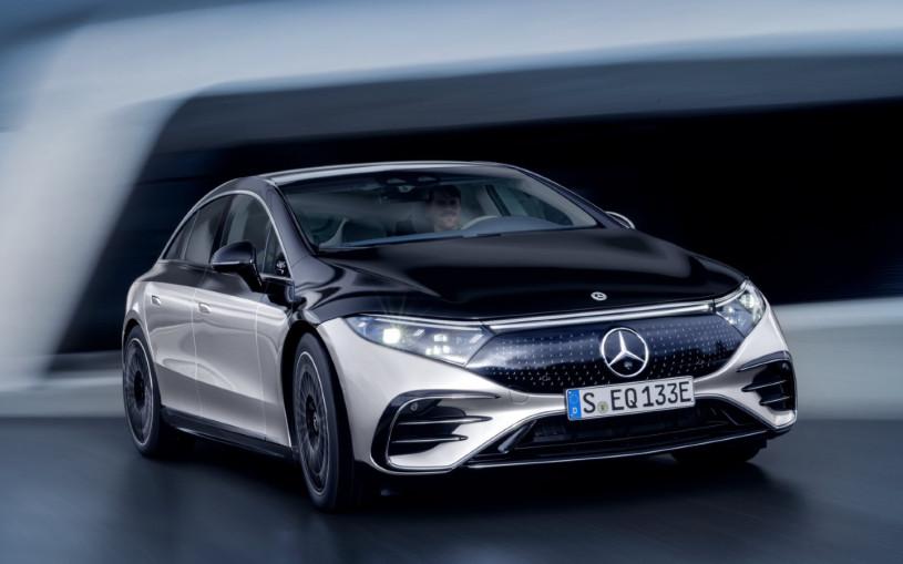 Mercedes-Benz EQS: 350 сенсоров, автопилот и запас хода 770 км