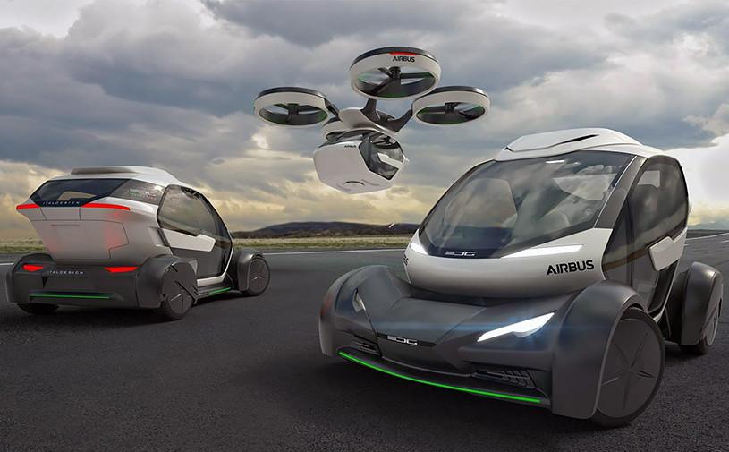 Audi подключилась к проекту летающего автомобиля Italdesign и Airbus