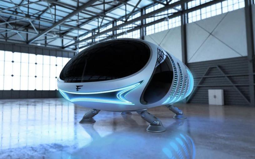 Воронежский стартап представил двухместное городское аэротакси. Фото