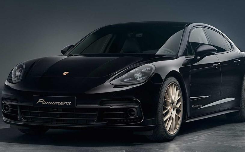 Porsche Panamera получила «золотую» версию в честь своего 10-летия