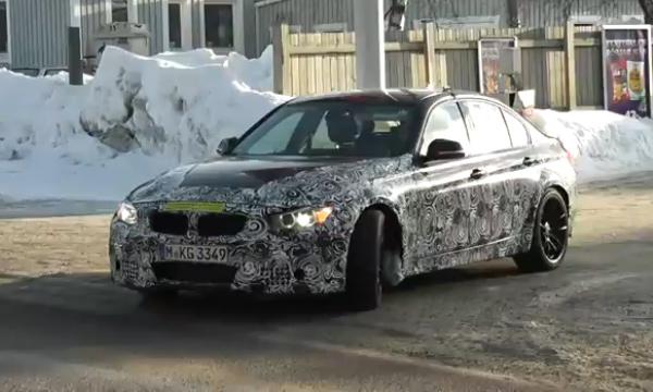 BMW M3 - три турбины взамен «механики». ВИДЕО