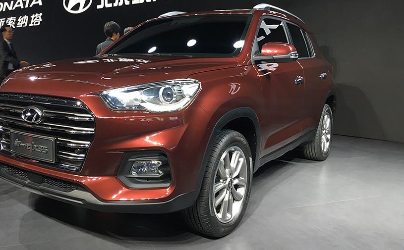 В Шанхае дебютировал новый Hyundai ix35
