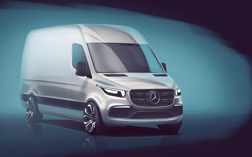 Электричество и тачпады: каким будет новый Mercedes Sprinter