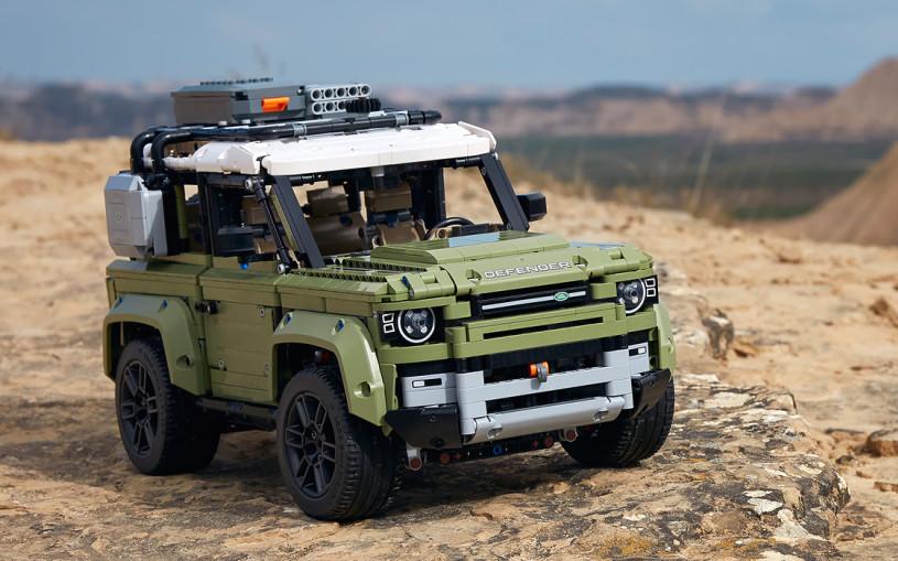 Lego выпустил доскональную копию нового Land Rover Defender