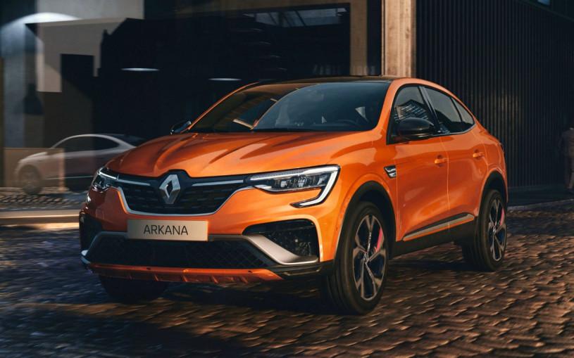 У кроссовера Renault Arkana появилась версия для Европы