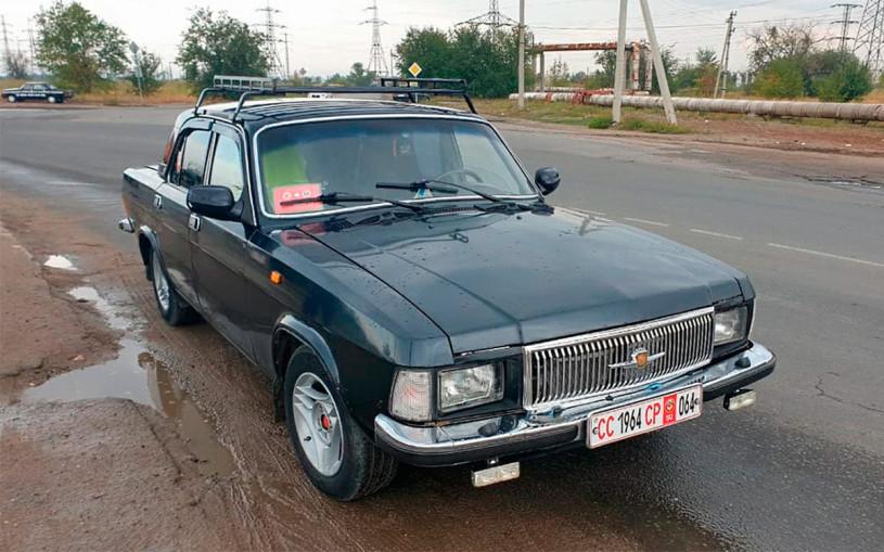 ГИБДД отправила на штрафстоянку ГАЗ-3102 «гражданина СССР»
