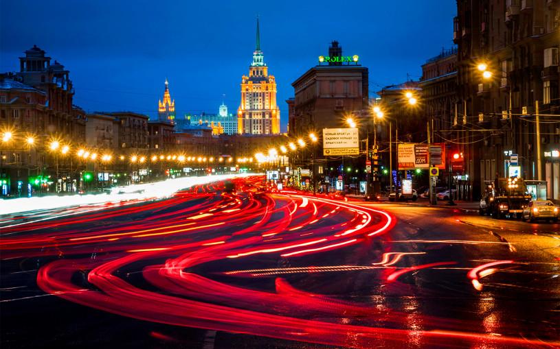 Власти Москвы назвали самые быстрые и медленные дороги в сентябре
