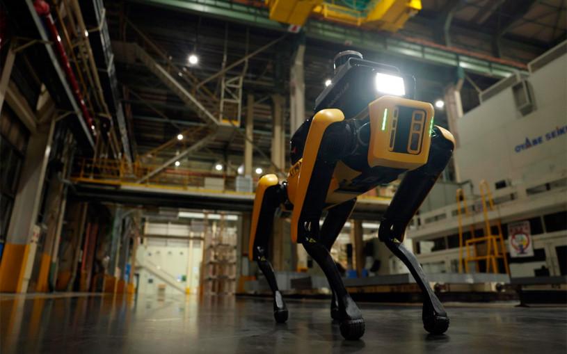 Hyundai и Boston Dynamics разработали четвероногого робота. Видео